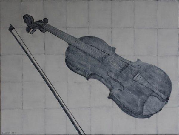 frits stiemer, dutch painter, interior design, muziekinstrument, viool, kubisme, zwart, wit, kunst, art, anders, muziek,