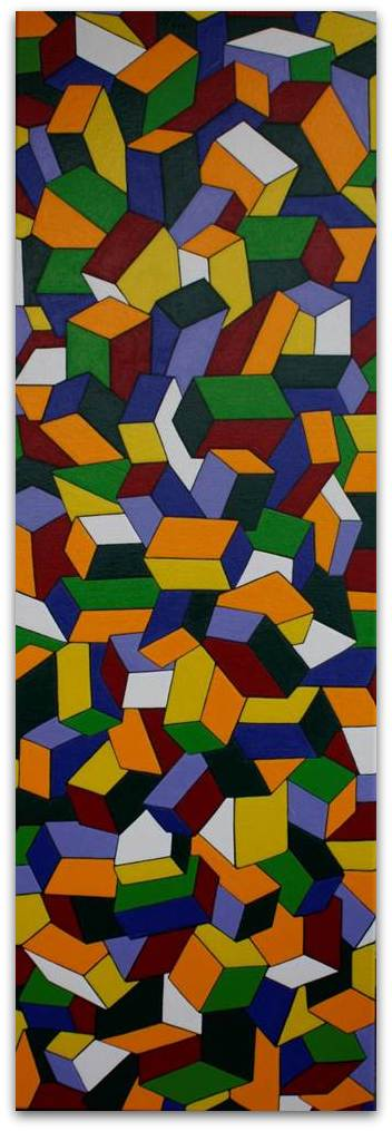 Frits Stiemer, kubusvormen