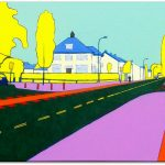 Frits Stiemer, Dutch painter, schilderen met acrylverf, prins bernhardlaan, veenendaal